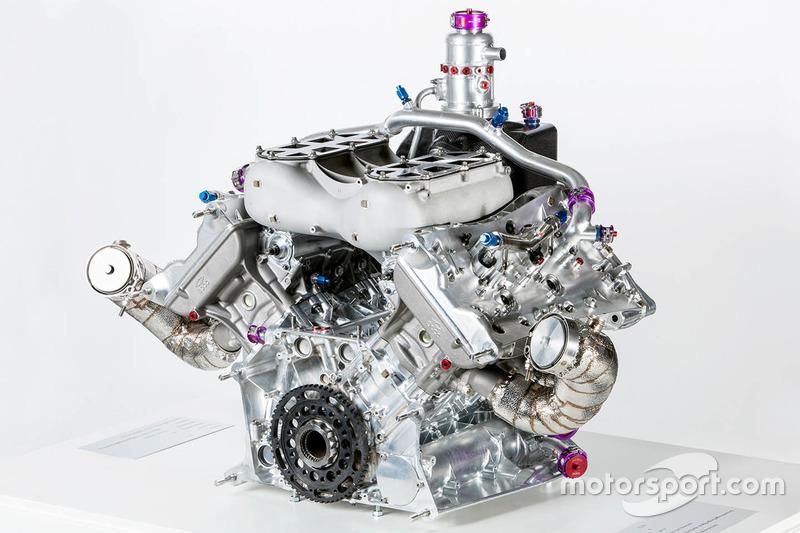 Porsche 919 Hybrid, V4-Turbomotor