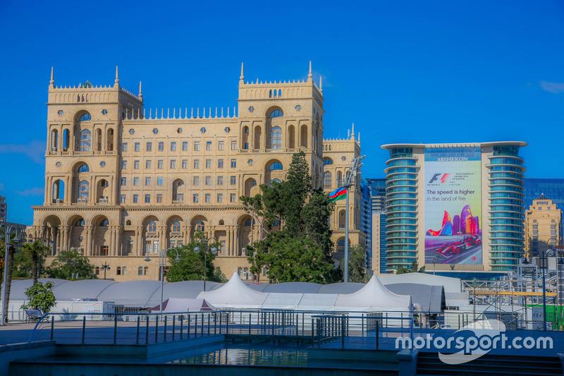 Атмосфера міста Баку