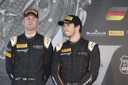 Podium: second place #58 Garage 59 McLaren 650S GT3: Rob Bell, Alvaro Parente