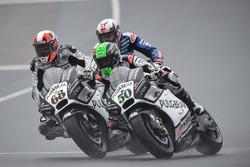 Eugene Laverty, Aspar MotoGP Team; Yonny Hernandez, Aspar MotoGP Team