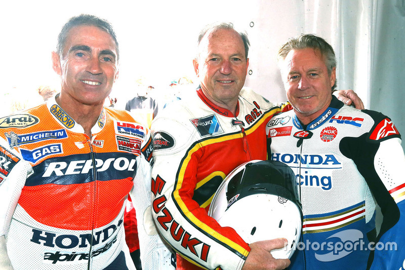 Mike Doohan, Graeme Crosby, Wayne Gardner