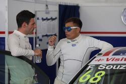 Filipe C. De Souza, Volkswagen Golf Gti TCR, Liqui Moly Team Engstler; Davit Kajaia, Volkswagen Golf