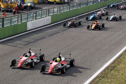 Mick Schumacher, Prema Powerteam affianca il compagno di squadra Juri Vips, Prema Powerteam alla partenza