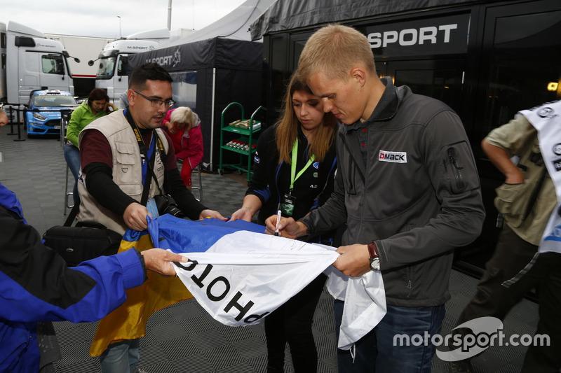 Ott Tanak, DMACK World Rally Team