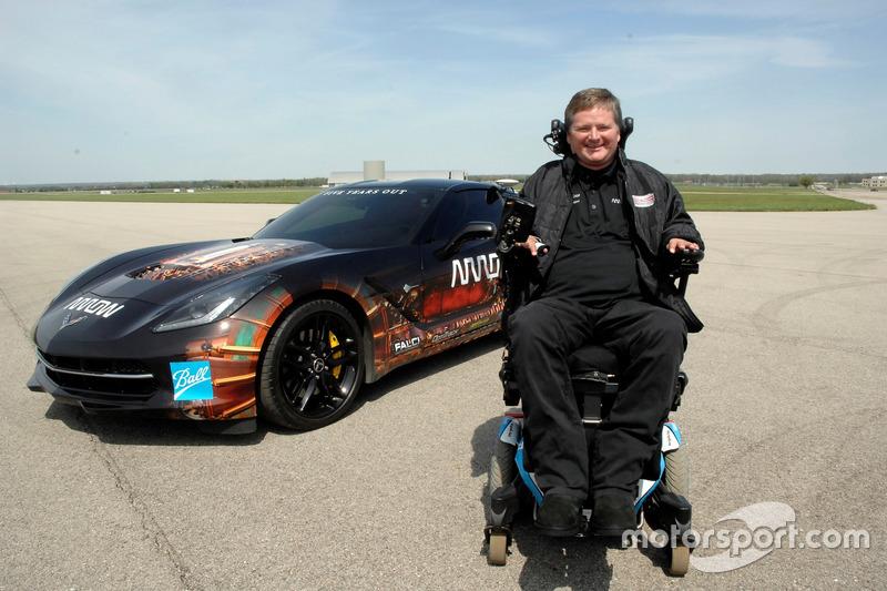 Sam Schmidt e la ARROW Chevrolet Corvette