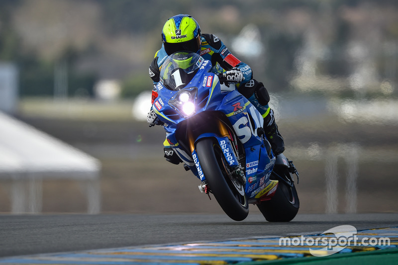 #1 Suzuki Endurance Racing Team, SERT: Etienne Masson