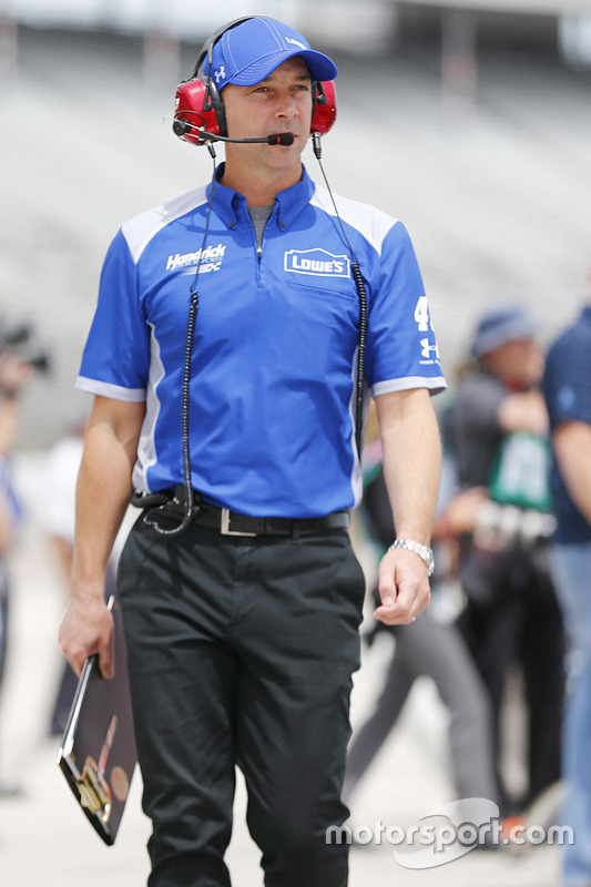 Chad Knaus, capo squadra di Jimmie Johnson