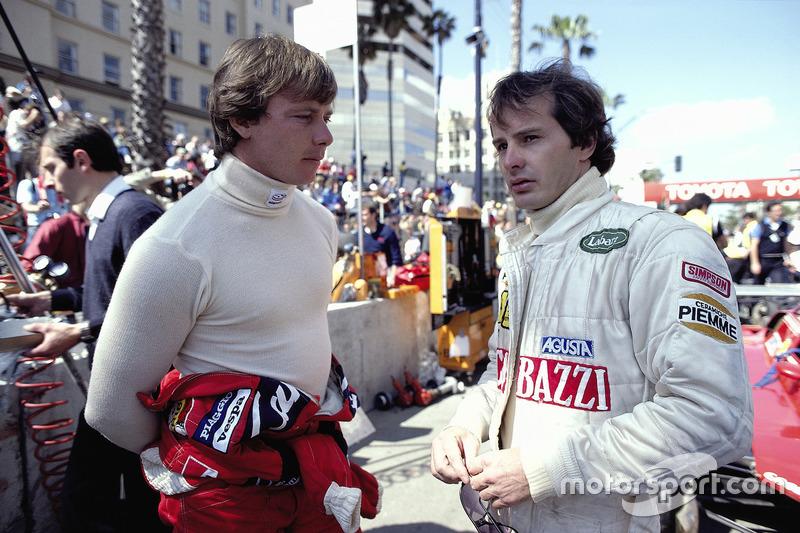 Гонщики Ferrari Дідьє Піроні та Жиль Вільньов