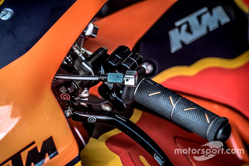 Détail de la KTM MotoGP, Red Bull KTM Factory Racing