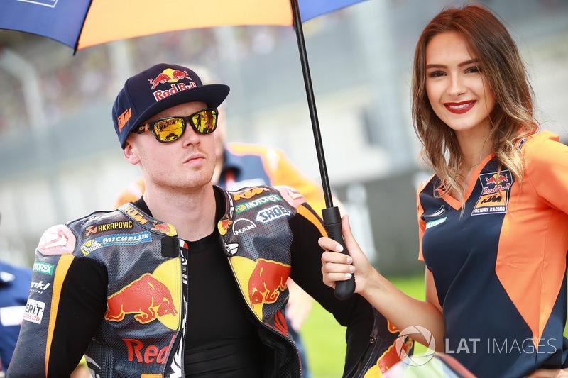 Грід-гьол поруч із Бредлі Смітом, Red Bull KTM Factory Racing