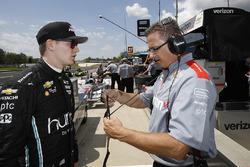 Josef Newgarden, Jon Bauslog, Team Penske Chevrolet