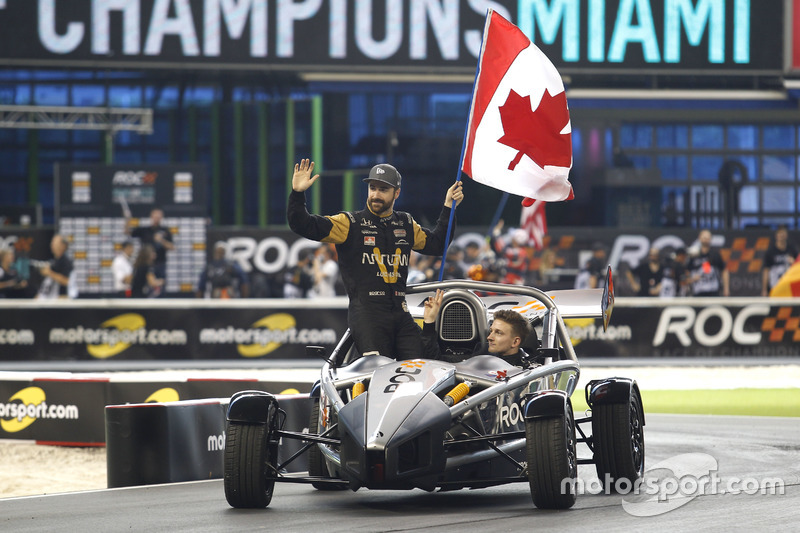 James Hinchcliffe y Stefan Rzadzinski, Team RoC Factor Canadá