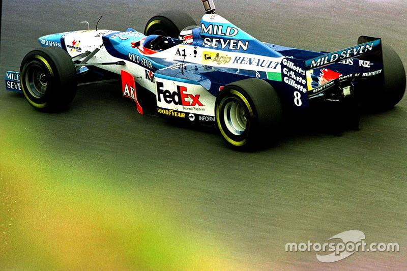 #8 : Gerhard Berger, Benetton B197