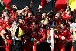 Ferrari feiert den Sieg