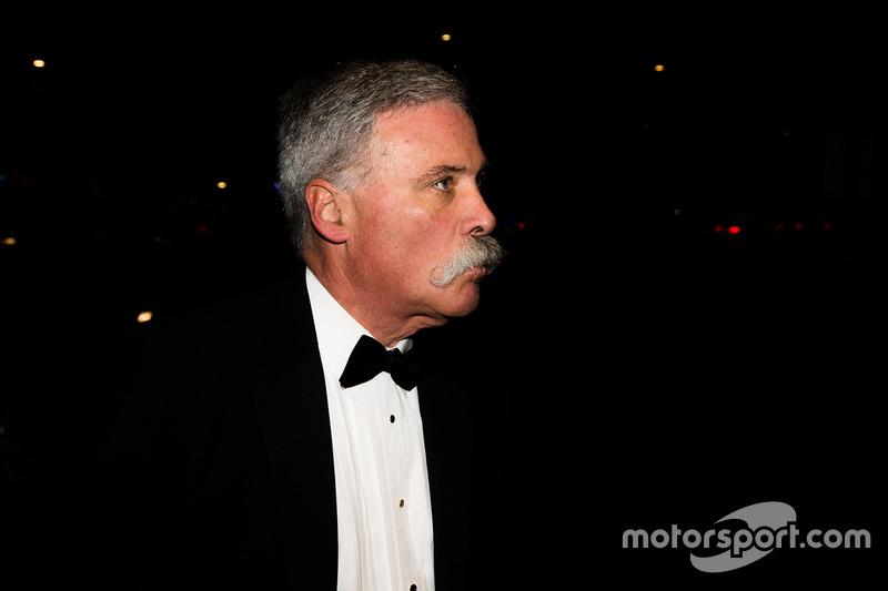 Chase Carey, presidente de Formula One Group