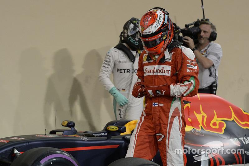 Kimi Raikkonen acabaría el mundial 6º, con 186 puntos