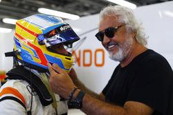 Fernando Alonso, McLaren, Flavio Briatore