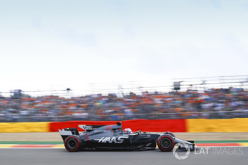 7. Romain Grosjean, Haas F1 Team VF-17