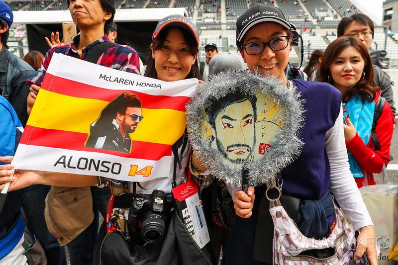 Уболівальники Фернандо Алонсо, McLaren