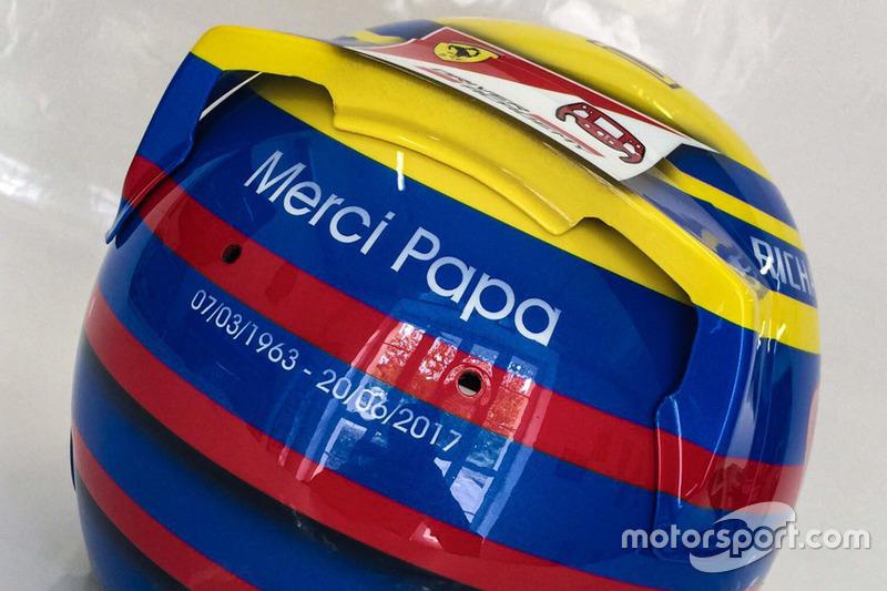 Le casque de Charles Leclerc, PREMA Racing