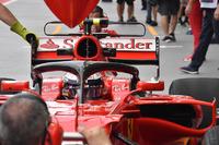 Kimi Raikkonen, Ferrari SF70H ve halo
