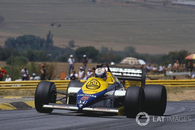 4. Південна Африка-1985, Кьяламі: Найджел Менселл, Williams FW10 - 1.02,366