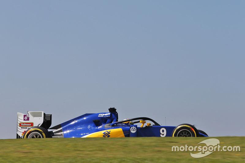 Marcus Ericsson, Sauber C35 con el Halo en el auto
