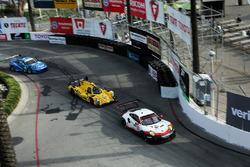 #912 Porsche Team North America Porsche 911 RSR: Kevin Estre, Laurens Vanthoor, #85 JDC/Miller Motor
