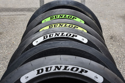 Dunlop decal range, hardest at the front leading to softest at the rear
