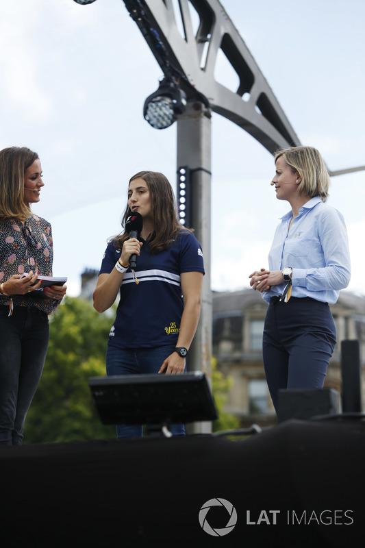 Татьяна Кальдерон, Sauber F1,Наталі Пінхем, Sky Sports F1, Сьюзі Вольфф, Channel 4 F1