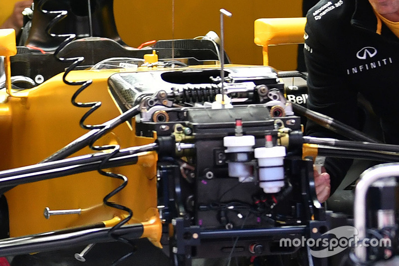 Renault Sport F1 Team RS17, Front, Detail