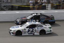 Corey LaJoie, BK Racing Toyota, Brett Moffitt, BK Racing Toyota