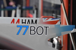 Detalle de carrocería del Mercedes AMG F1 F1 W08
