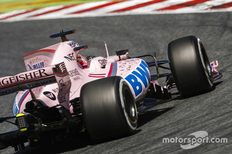 8: Серхио Перес, Sahara Force India F1 VJM10