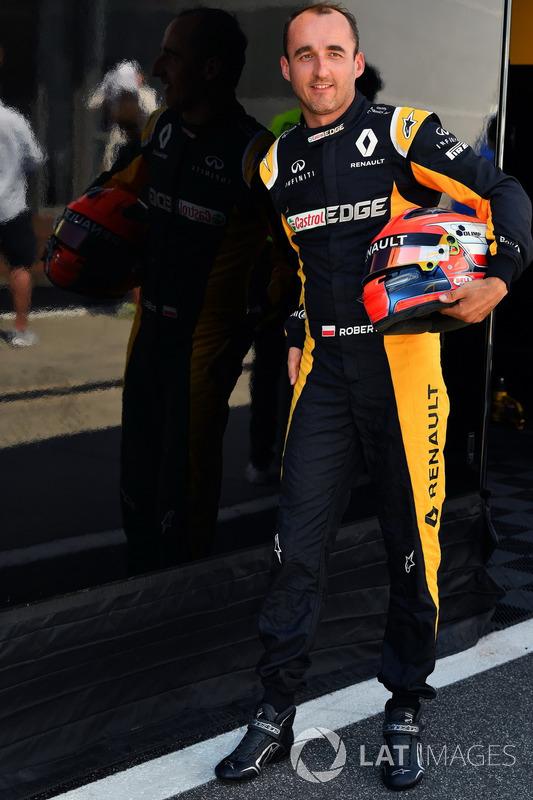 Robert Kubica, Renault Sport F1 Team