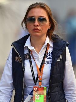 Ksena Dvoinikova, Assistant CMO Russian GP Sporting