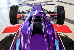 DS Virgin Racing, detail van de auto