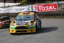 Sébastien Carron, Vincent Landais, Ford Fiesta R5, D-MAX Swiss, Team Balbosca