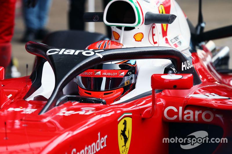 Halo de Ferrari