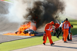 L'accident de Tom Sykes, Kawasaki Racing