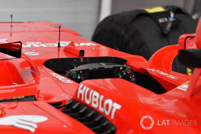 Ferrari SF70H cockpit