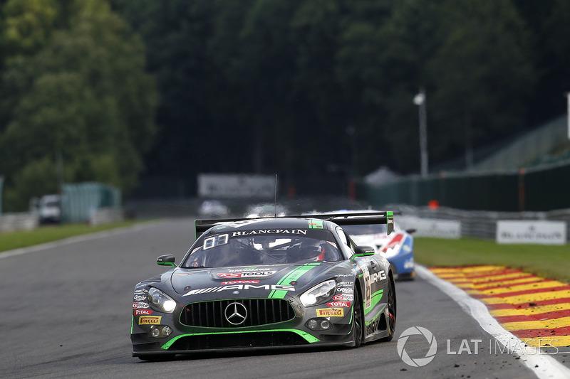 #85 HTP Motorsport Mercedes-AMG GT3: Едвард Сандстрьом, Фабіан Шиллер, Домінік Бауман
