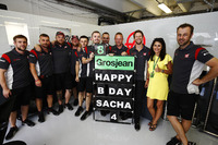 Romain Grosjean, Haas F1 Team'in oğlu Sacha'ya mesaj