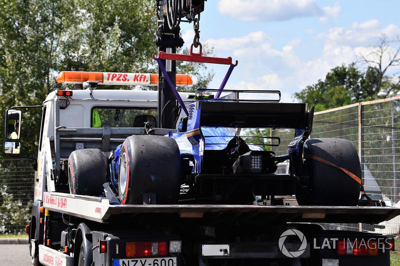 Sauber C36 Паскаля Верляйна
