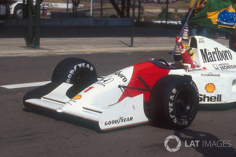 1992 Macaristan: McLaren MP4/7A