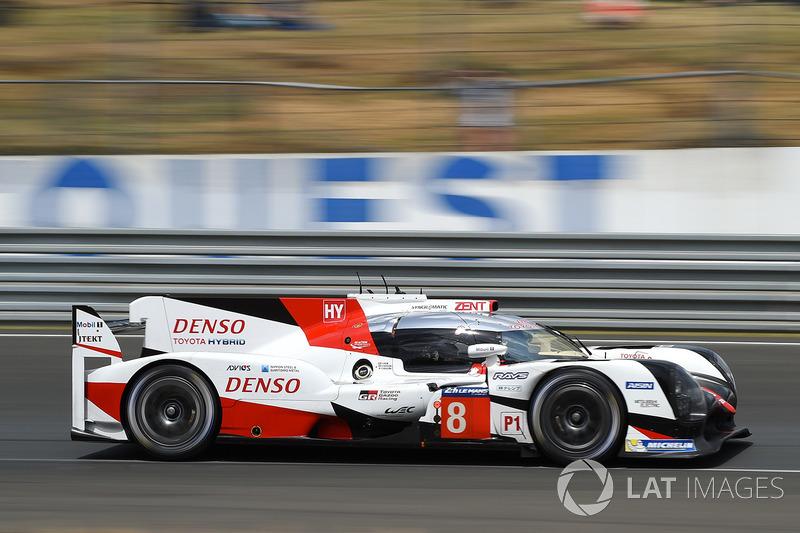 LMP1: #8 Toyota Gazoo Racing, Toyota TS050 Hybrid