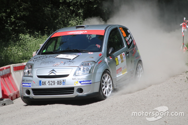 Ivo Vaz Lopes, Sarah Lattion, Citroën C2 R2