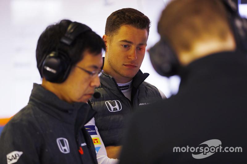 Стоффель Вандорн: пройти через худшие условия для дебюта в Ф1