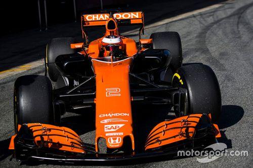 McLaren MCL32 film dag