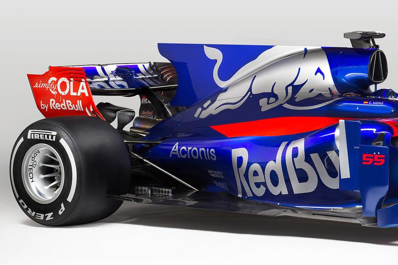 L'arrière de la Toro Rosso STR12
